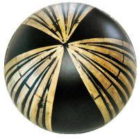 Ceramic Decor Ball with Bamboo