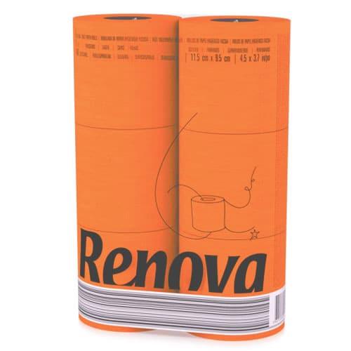 Orange Toilet Paper